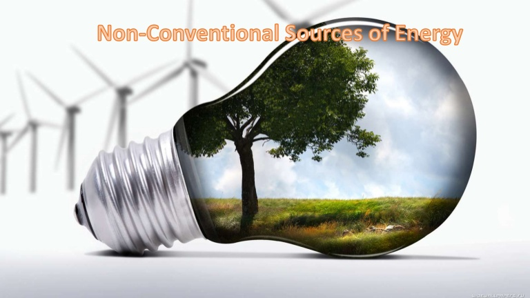 advantages of non conventional sources of energy