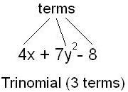 Trinomials