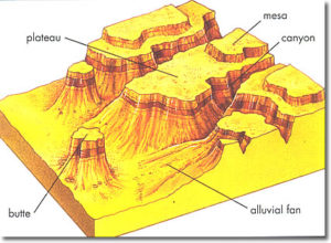 Major Landforms Of The Earth Mountains Plateaus Plains