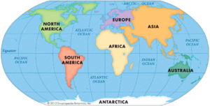 Domains of the earth lithosphere hydrosphere atmosphere biosphere continents of the earth gumiabroncs Choice Image