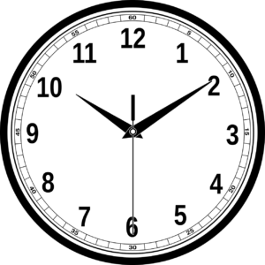 Hands of clock - Periodic Motion