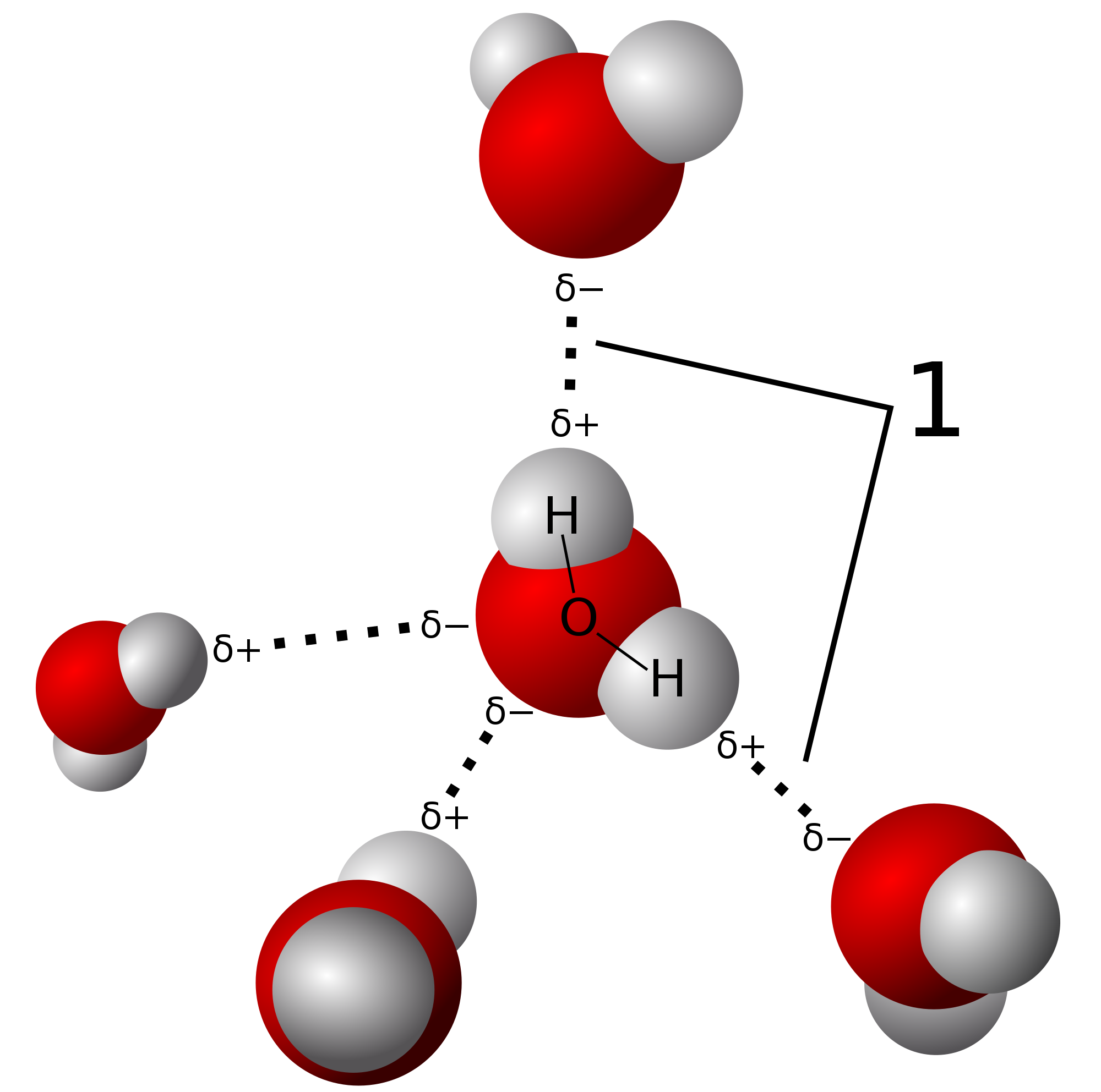 Hydrogen Bond Mechanism In Water Examples Videos 3d Oxygen Atom Diagram This Is Our First The Electrons Constituting Covalent Are Shifted Toward More Electronegative Happens When There Formation Between
