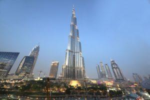 Burj Khalifa - Important Landmarks