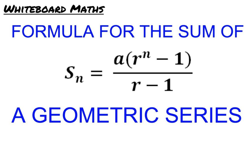 Geometric Series: Formula, Concepts, Videos and Practice