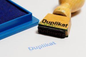 duplicate ratios