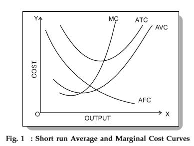 Short Run Average Costs: Marginal Cost, AFC, AVC, Formulas, etc