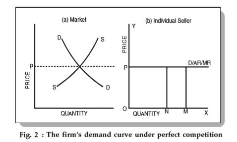 Price Determination Under Perfect Competition Equilibrium