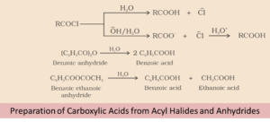 carboxylic acid-acyl halides-acyl anhydrides