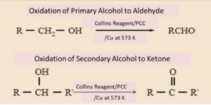 Ketones and aldehydes from Alcohol