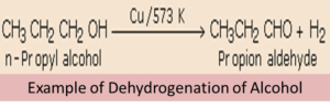 Preparation of Aldehydes and Ketones by Dehydrogenation