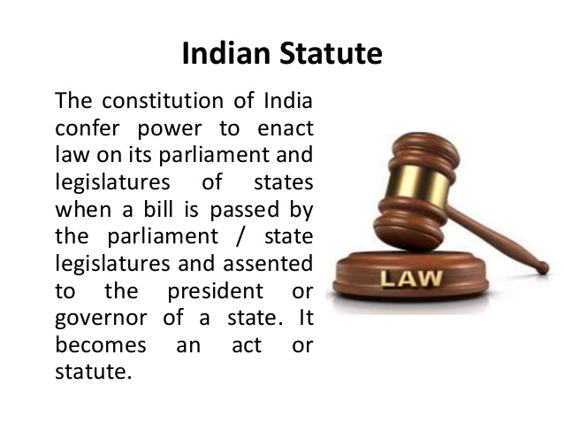 indian statute law