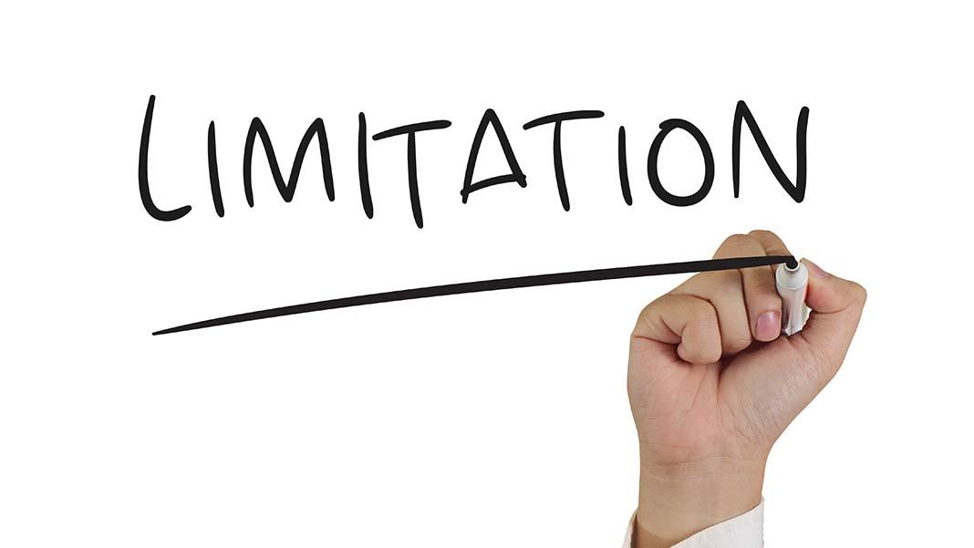 limitation of financial statement