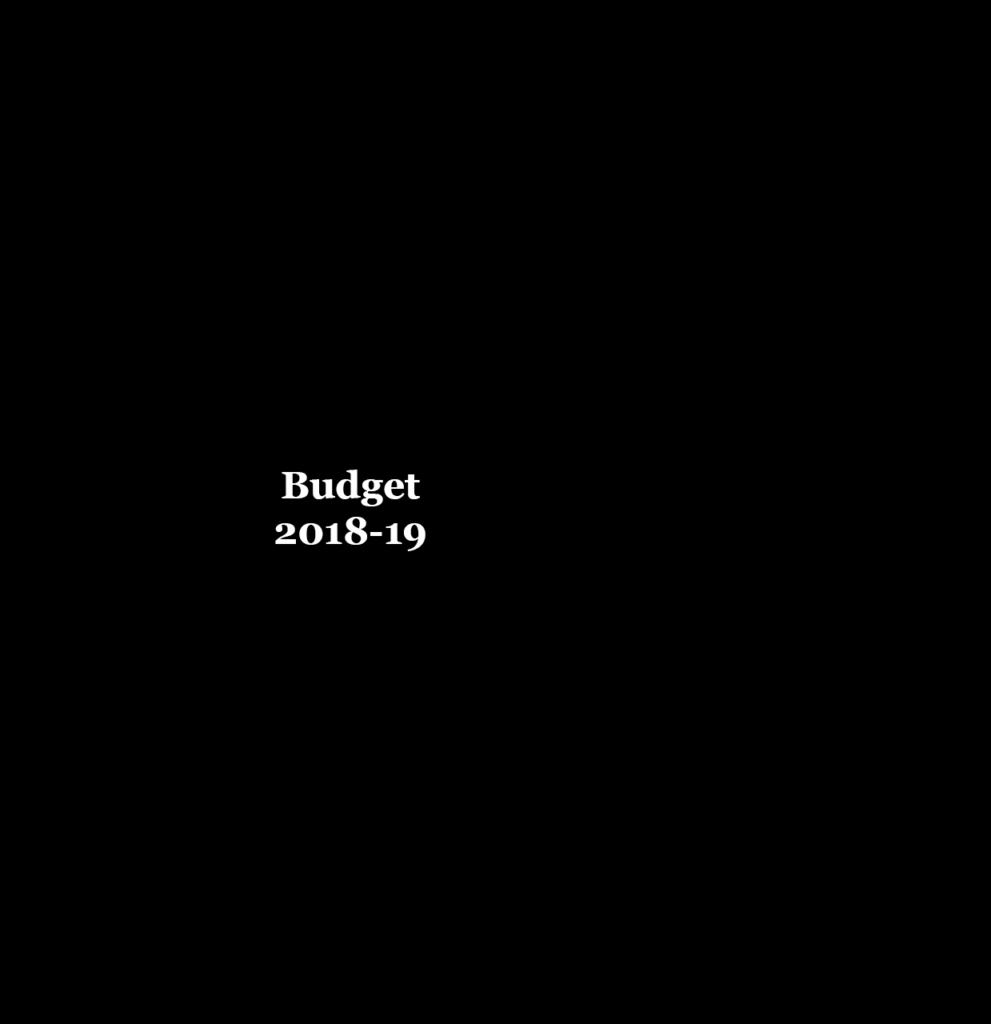 budget updates