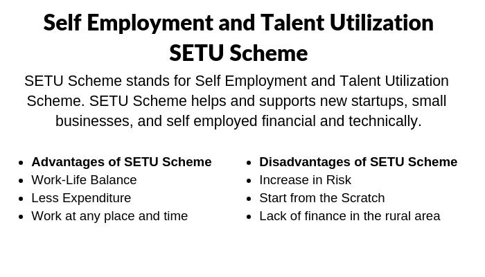 SETU Scheme
