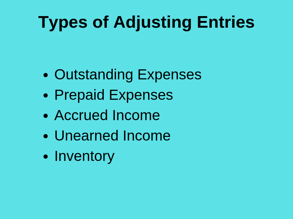 Adjusting Entries and Accounting Treatment: Journal Entries