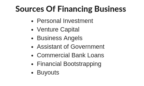Sources of Financing Business: 5 Finance Source for Business