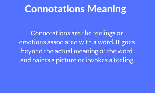 Connotation Meaning: Connotation & Denotation with Examples