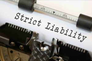 Rule of Strict Liability