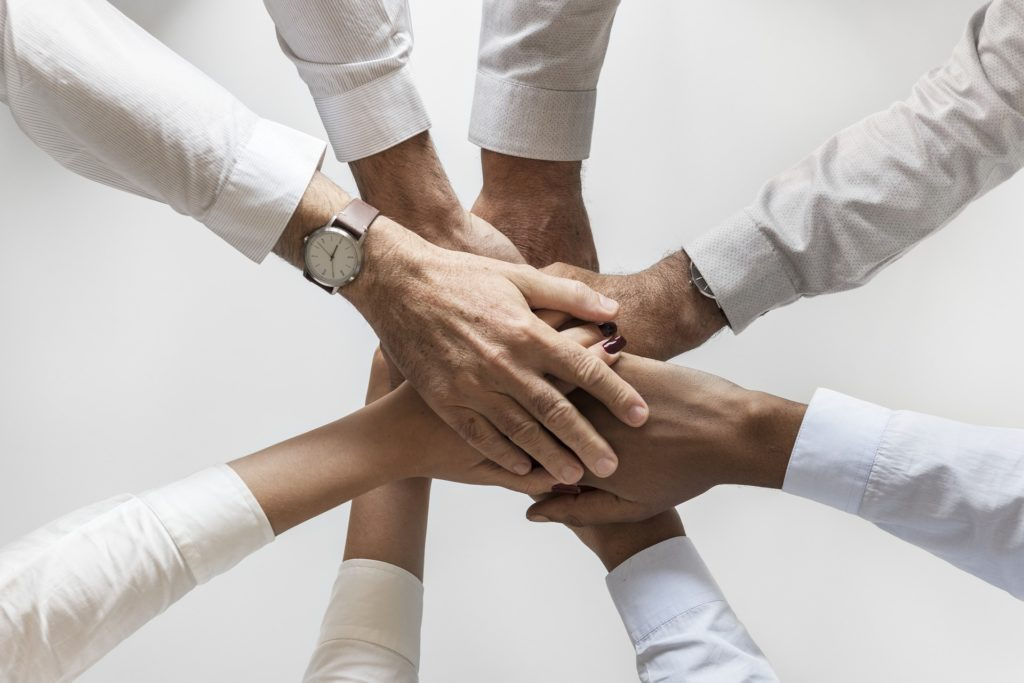 People showing Group Cohesiveness