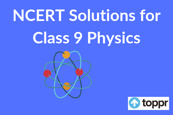 ncert solutions for class 9 physics