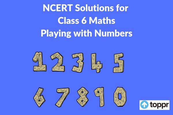 ncert solutions for class 6 maths chapter 3