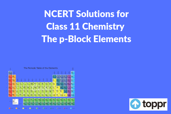 NCERT Solutions for Class 11 Chemistry Chapter 11
