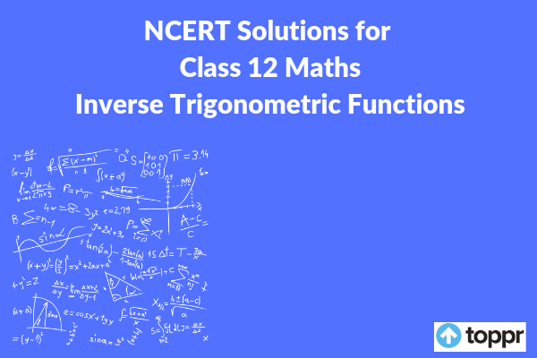 ncert solutions for class 12 maths chapter 2