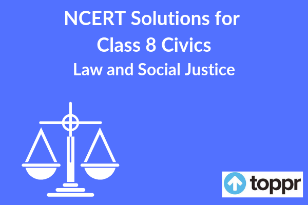 ncert solutions for class 8 civics chapter 10
