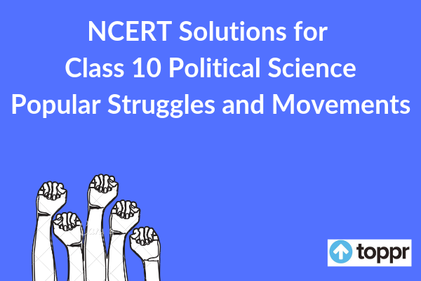 ncert solutions for class 10 political science chapter 5