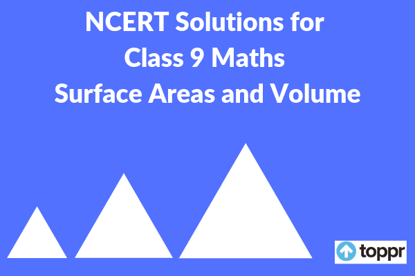 ncert solutions for class 9 maths chapter 13