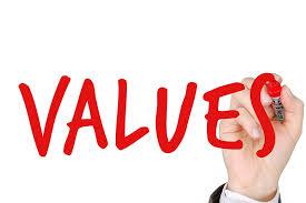 essay on values