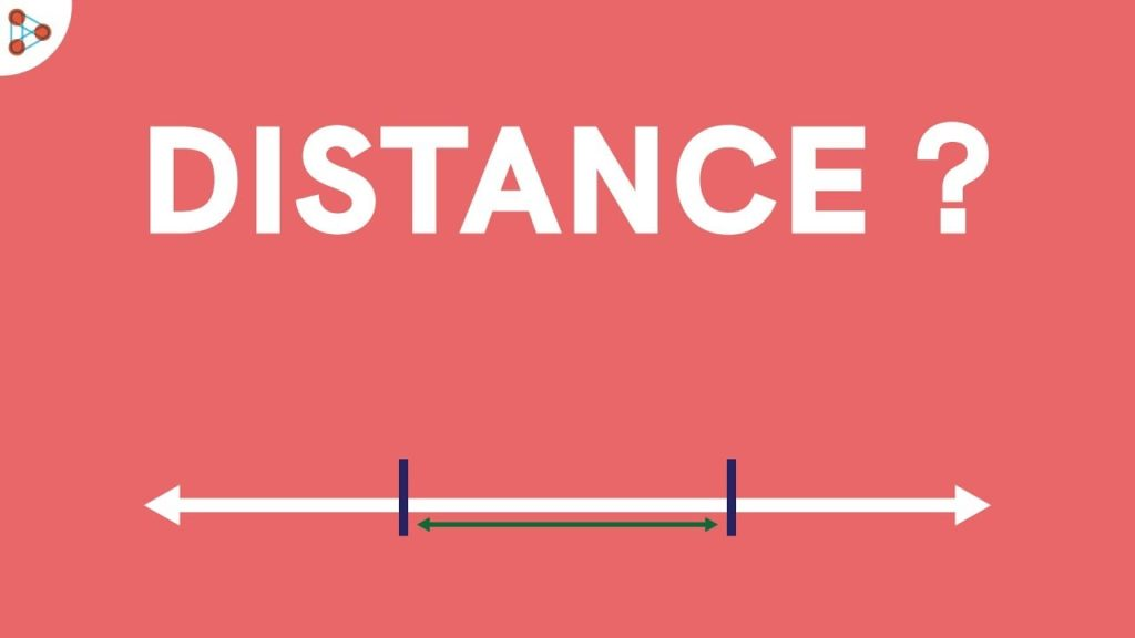 what is the distance formula