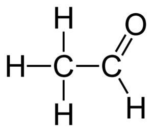 Acetaldehyde Formula