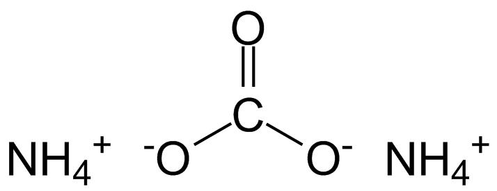 ammonium carbonate formula