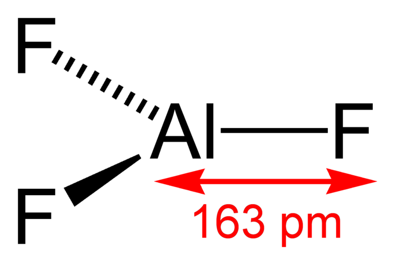 Aluminium Fluoride Formula