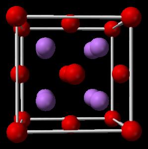 Lithium Oxide Formula