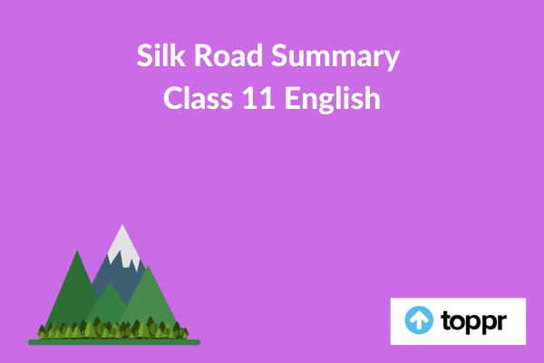 silk road summary