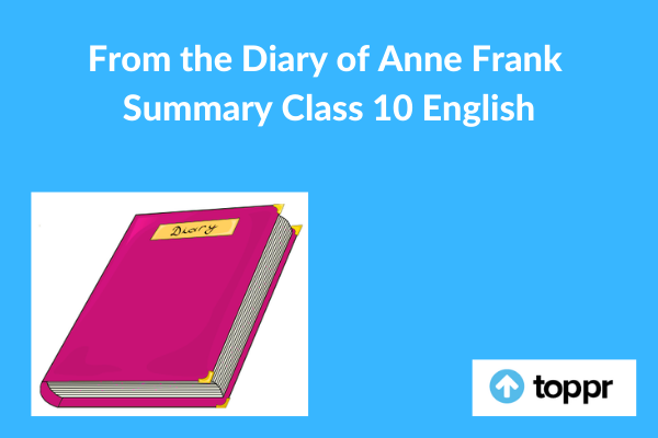 the diary of anne frank summary