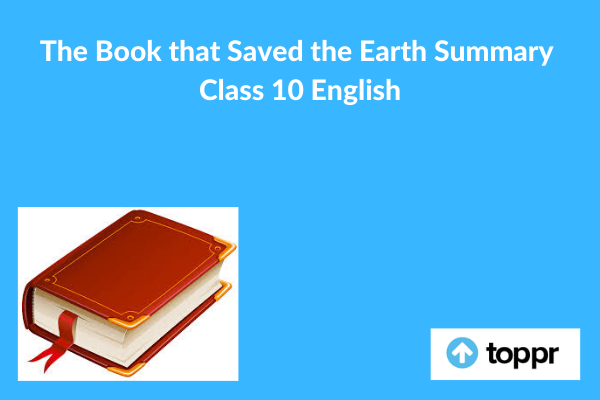 the book that saved the earth summary