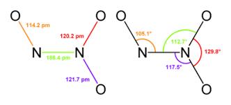 Dinitrogen Trioxide Formula