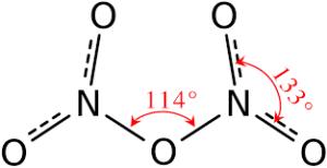 Dinitrogen Pentoxide formula