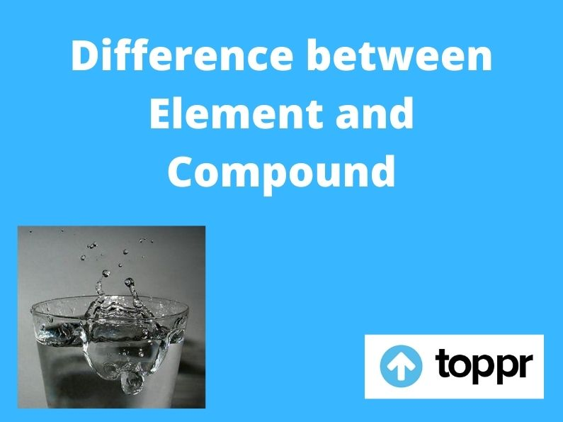 difference between element and compound