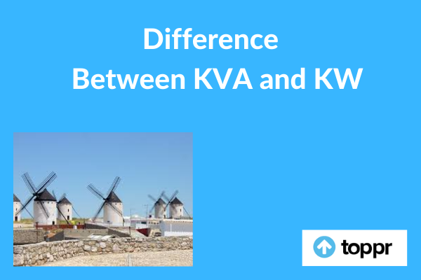 Difference between KVA and KW