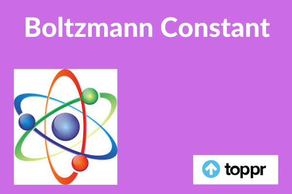 Boltzmann constant