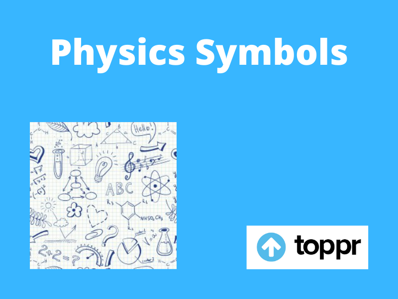 Physics Symbols