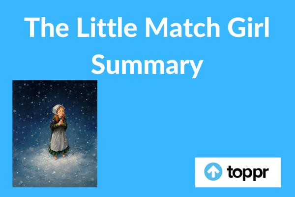 The Little Match Girl Summary