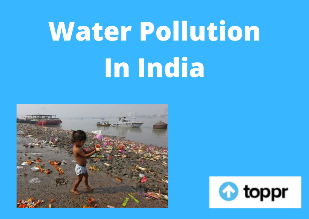 water pollution in india