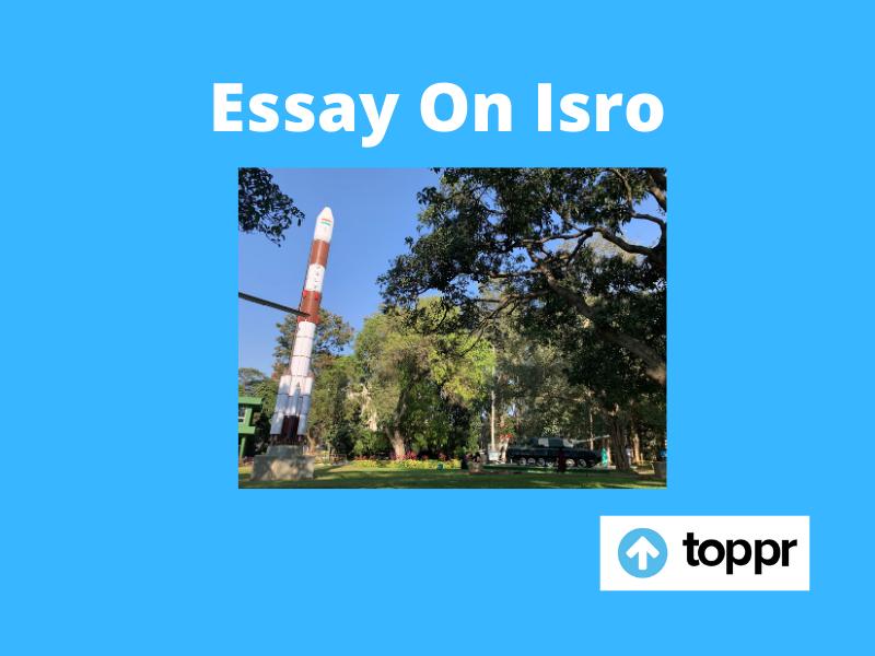 essay on isro