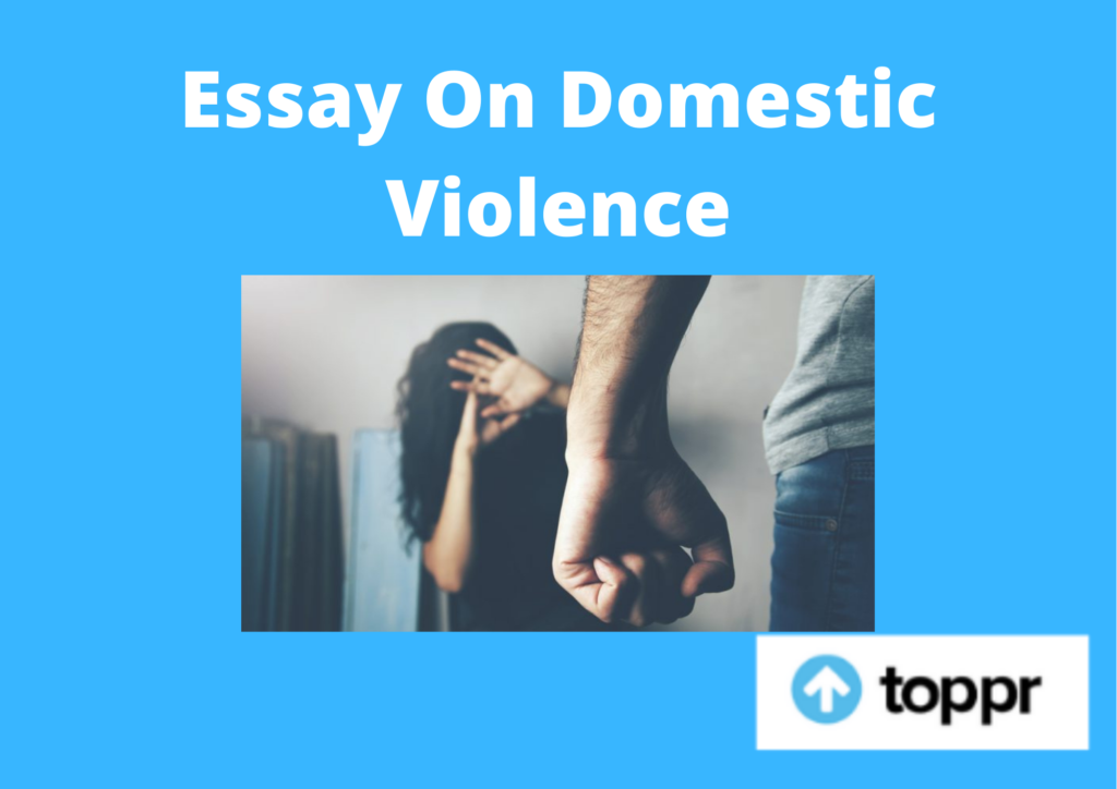 essay on domestic violence