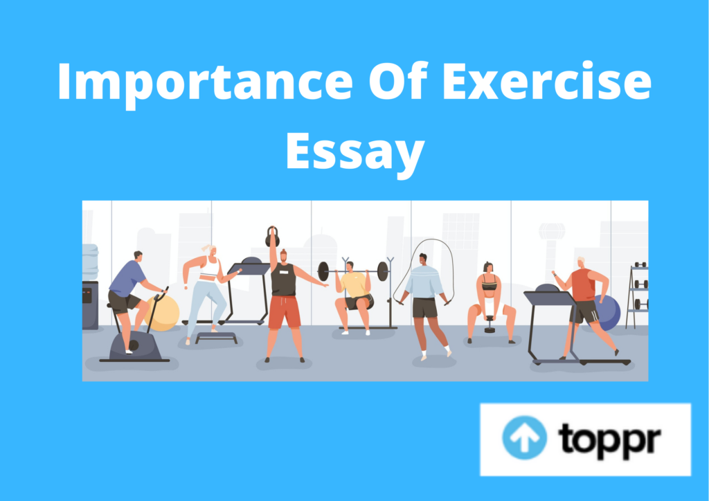 importance of exercise essay